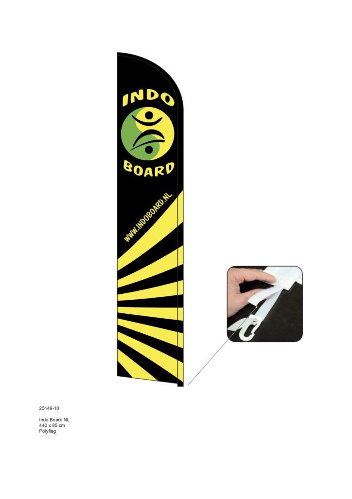 indoboard beachflag ontwerp